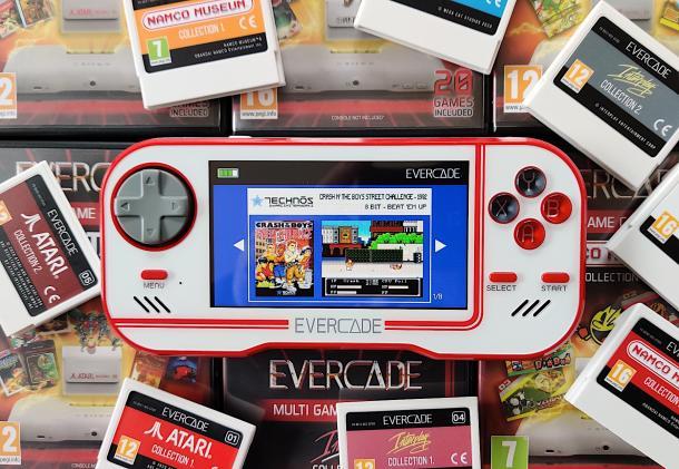 Evercade's cartridge-based retro handheld makes more sense than you think