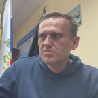 Kremlin foe Alexei Navalny calls for street protests after being jailed