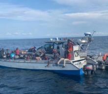 Colombian fishermen rescue 94 Haitian migrants adrift at sea