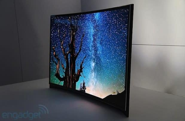 Samsung's curved OLED TV drops price by a third, LG brings cheaper 4K TVs