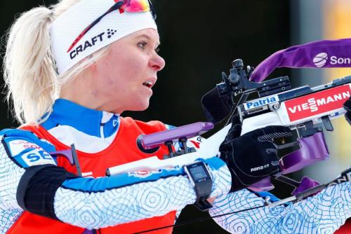 Laukkanen réussit le doublé, Justine Braisaz troisième