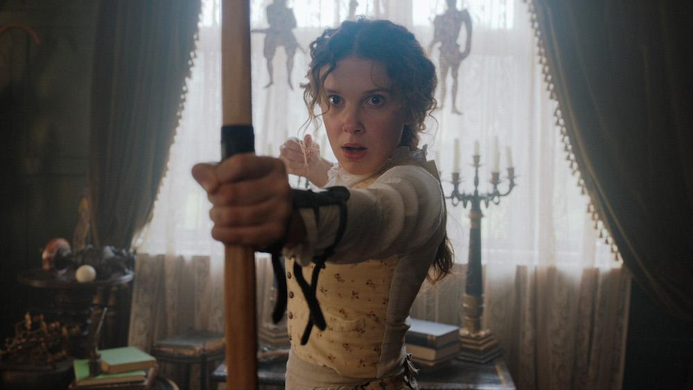 'Enola Holmes' Review: Sherlock's Kid Sister Rocks in Clever Netflix Original thumbnail