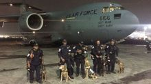 US search and rescue experts arrive in Mexico after deadly earthquake