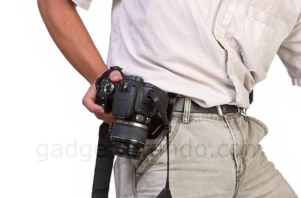 Brando camera holster is cheap, might actually hold your camera