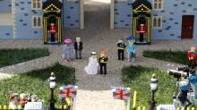 La boda del príncipe Harry de Inglaterra y Meghan Markle, en versión Lego