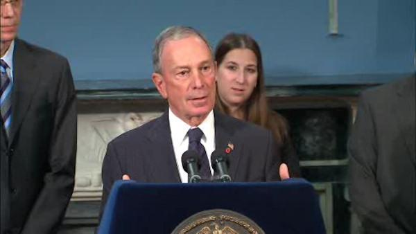 Letters sent to Mayor Bloomberg contained ricin