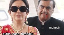 Nita and Mukesh Ambani's Funny Memes Invade The Internet: The Couple's Pic From Isha Ambani and Anand Piramal's Sangeet Go Viral!
