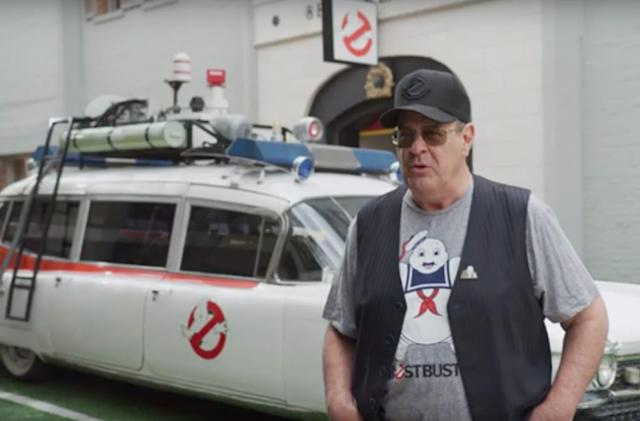 Watch Dan Aykroyd hype up the 'Ghostbusters' remaster for Switch