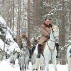 Kim Jong Un rides again as North Korea warns U.S. against using military force