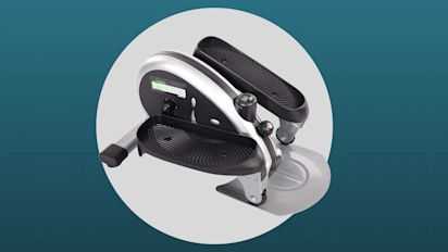 Under-desk elliptical will keep you fit while you work
