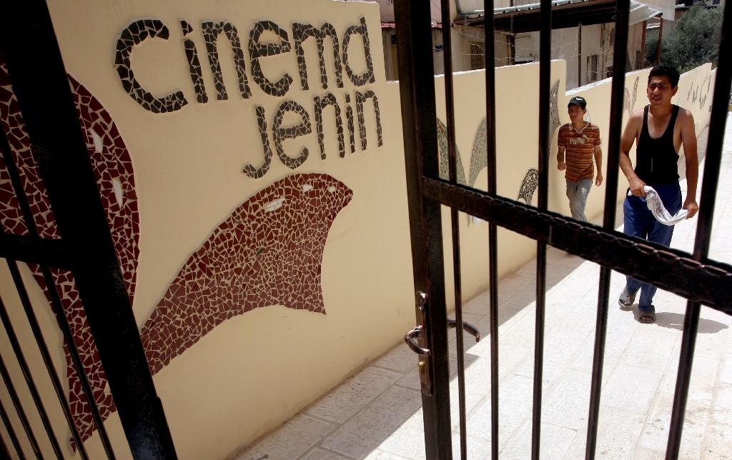 Built in 1957, Cinema Jenin was considered to be one of the largest and most impressive cinemas in the Palestinian territories (AFP Photo/SAIF DAHLAH)