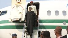 Nigeria's ailing president returns after 3 months away