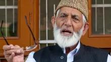 Syed Ali Geelani: Kashmir leader quits Hurriyat Conference