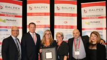 Cascades PRO™: Balpex Platinum Supplier of the Year