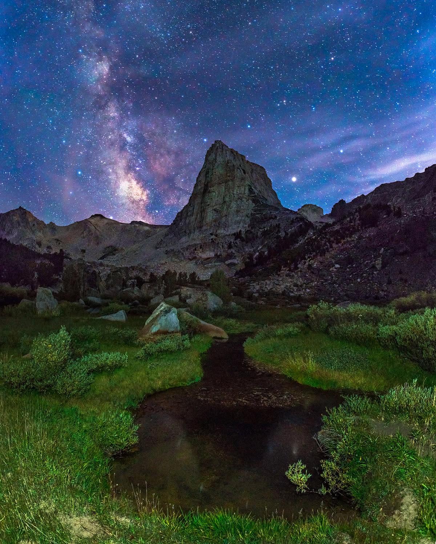 <p>The Sierra Mountains, California. (Photo: Abe Blair/Caters News) </p>