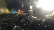 Cadets among 22 dead in 'shock' Ukraine military plane crash