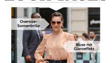 Look des Tages: Alyssa Milano glänzt im Denim-Nude-Look