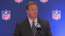 NFL commissioner: 'We're trying to stay out of politics'