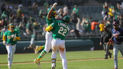 A's get their 11th straight win in rare fashion