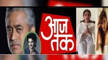 SSR Fans Trolls Aaj Tak and Put these alligation on Rajdeep Sardesai and Channel