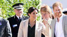 El príncipe Harry y Meghan Markle visitan su ducado