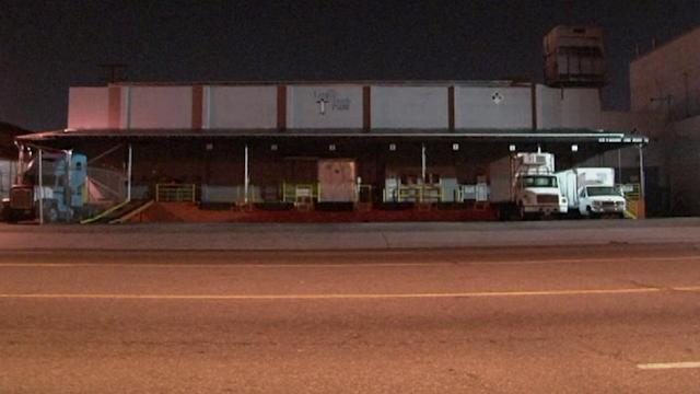 Ammonia leak reported at Long Beach cold storage facility