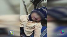 Mujer quemó el rostro y los ojos a su hijo en supuesta venganza contra el padre