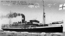 La tragedia del trasatlántico Príncipe de Asturias, conocido como 'el Titanic español'