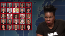 Leslie Jones criticises Alabama abortion ban on SNL: 'This really is a war on women'