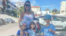 """Luana Piovani critica presentes de Pedro Scooby aos filhos: """"Passar a mãe para trás"""""""