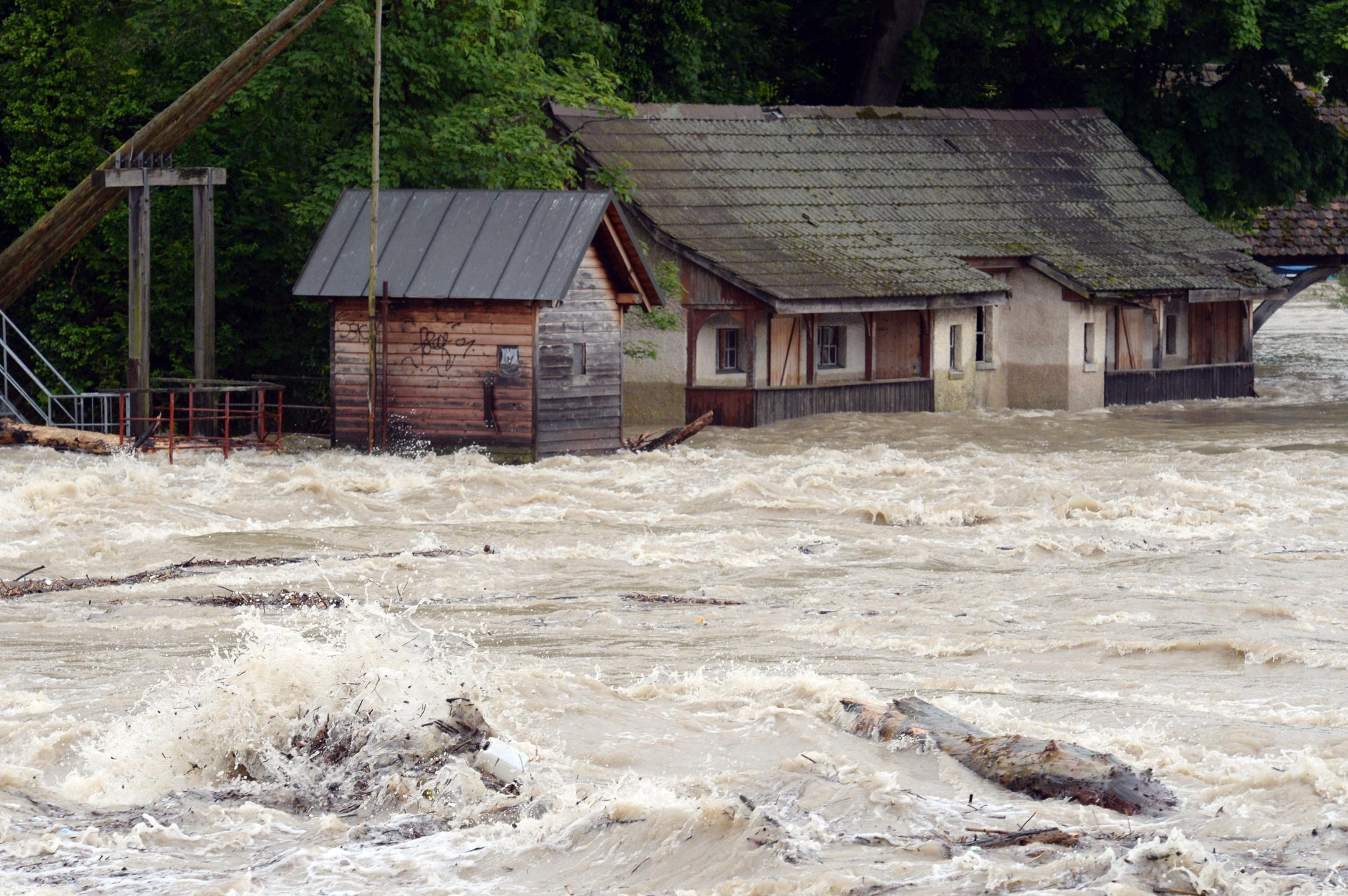 Central Europe hit by floods after days of rain