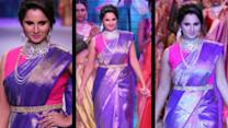 After Wimbledon Sania Mirza shines at IIJW!