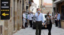 Los reyes llegan al ecuador de su gira en plena polvareda sobre Juan Carlos I