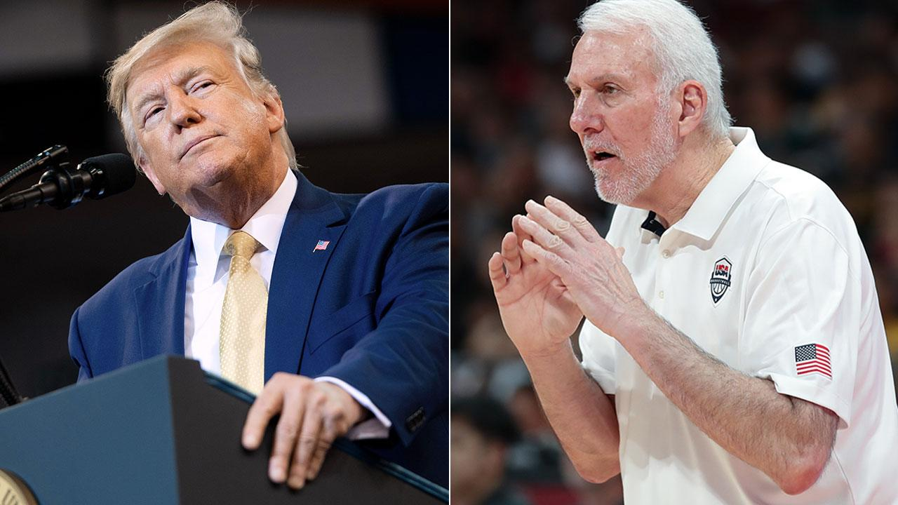 NBA coach slams 'cowardly' president Trump after China criticism