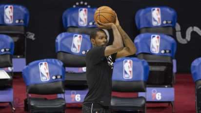 Nets prioritize resting KD over East's top seed