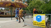 """""""On ne peut pas profiter pleinement, c'est une contrainte"""" : le port du masque obligatoire sur l'île de loisirs de Cergy-Pontoise ne fait pas l'unanimité"""