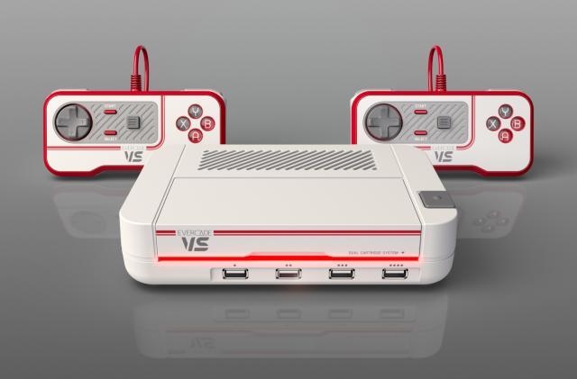 Evercade's retro game cartridge system now has a home console