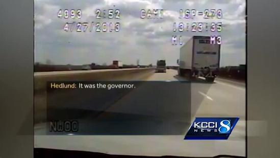The email behind Branstad's speeding SUV case