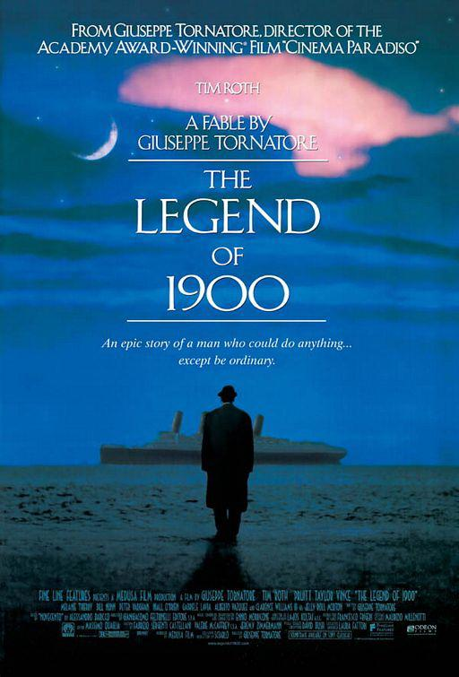 7.《海上鋼琴師》The Legend of 1900,1994