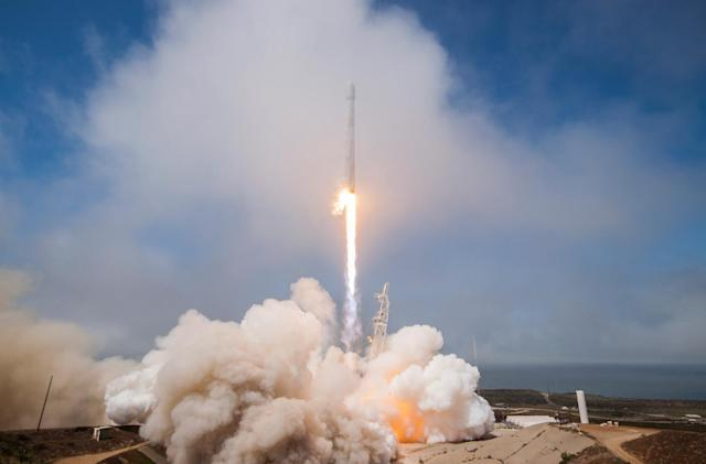 SpaceX rocket carved giant hole in the ionosphere