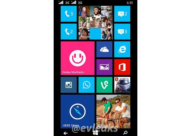Leak hints at Nokia-made Windows Phone with dual SIMs