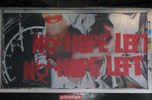 Capcom behind 'No Hope Left' viral ads (or widespread graffiti, depending on your perspective)