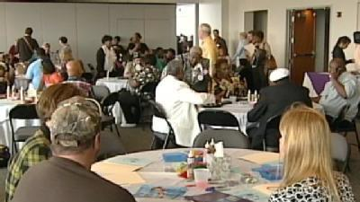 Families Gather To Remember Victims Of Violence