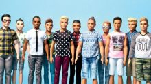 Barbie Debuts New Ken Dolls With Dad-Bods and Man-Buns