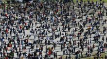 Thousands protest anti-coronavirus restrictions in Germany over weekend