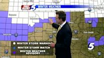 Thursday midday winter weather update