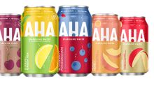 Coca-Cola launching a new sparkling water brand, Aha, in March 2020