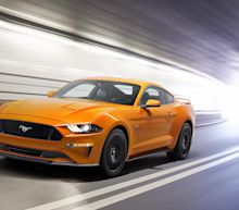 The 2018 Ford Mustang comes galloping into view