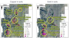 New Copper-Gold targets defined at Miner Mountain, British Columbia