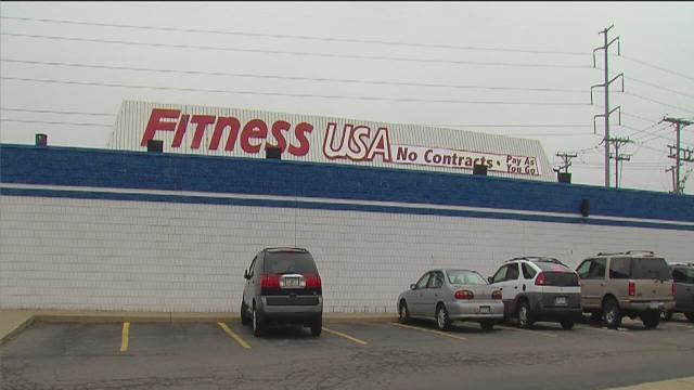 Protest at Fitness USA